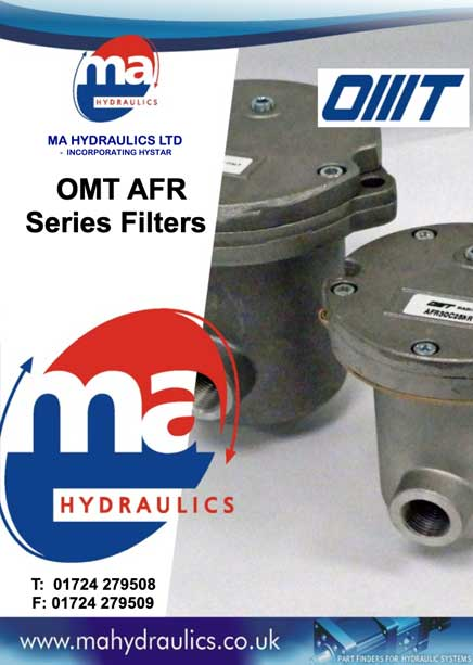 OMT AFR Series Filters Catalogue